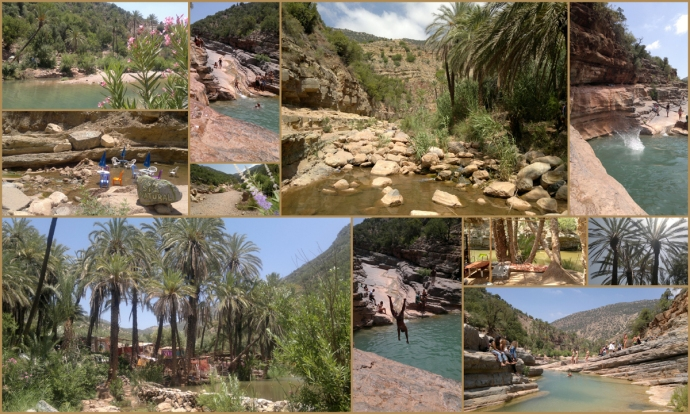 legend and story of paradise valley in morocco